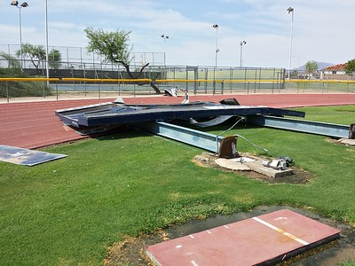 13 STORM DAMAGE AT DV