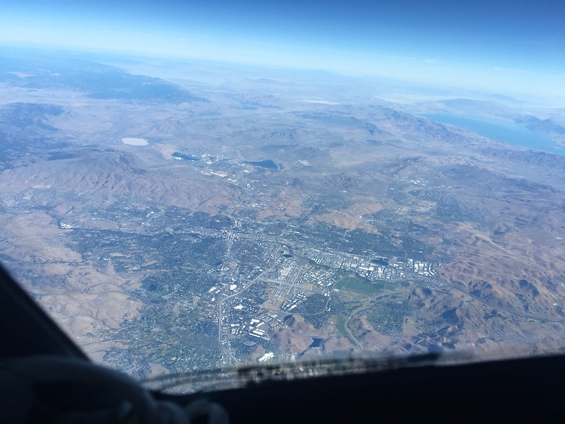 Reno from FL390