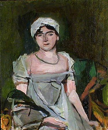 Janice Nowinski after Jean-Louis David