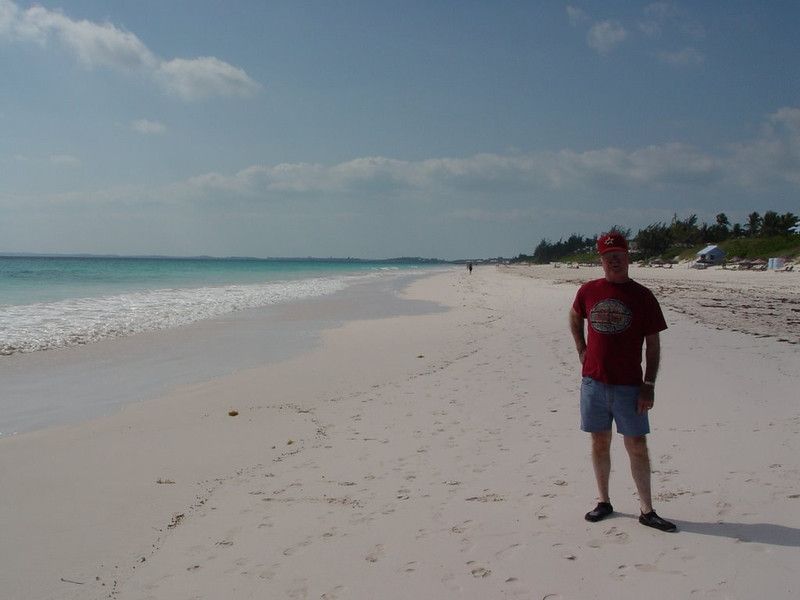 David on the Beach