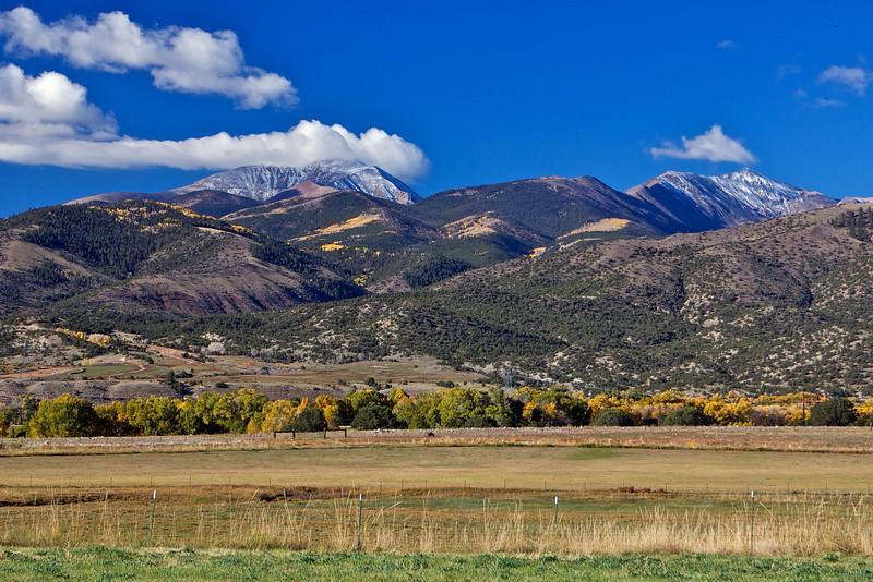 Mosquito Range of Mountains SW of Salida