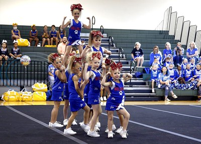 East Texas Pee Wee Cheerleader Competition by Cori Smith