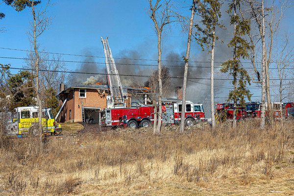 Residential Structure Fire - 109 Bennett Rd. Middle Hope FD - 2/21/2020