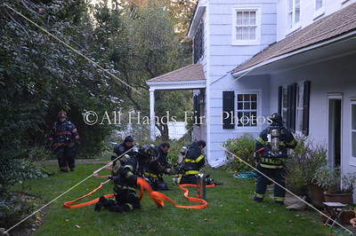 20131026 - Oyster Bay - House Fire