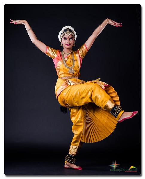 Daksha's Pre-Arangetram Portraits 2019