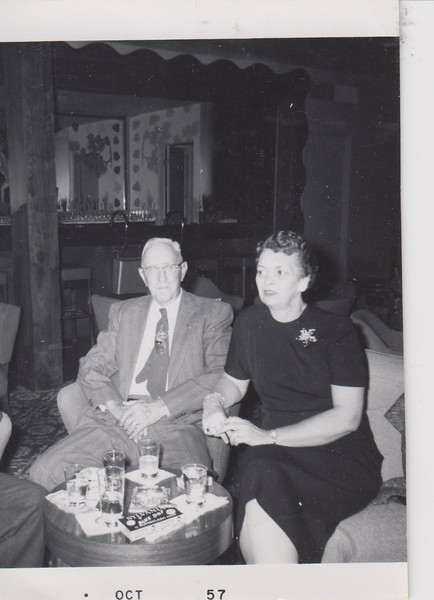 Oct 1957 Owen E. Kinnard and Coila.jpg