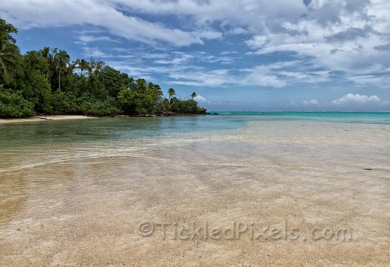 Sand Bar off Moturakau Island