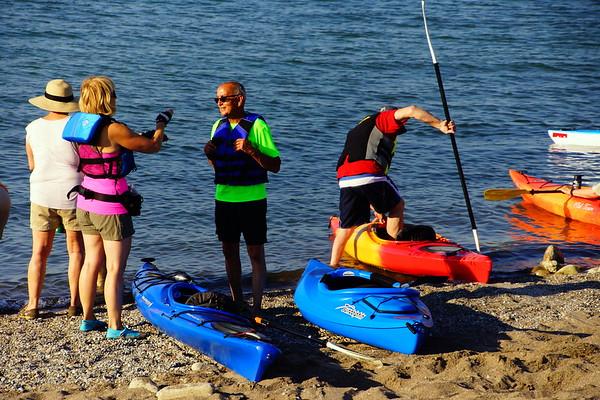 Kayaker's in Lorain