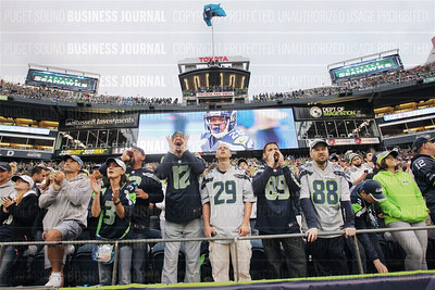 The Seattle Seahawks return to the pitch means big sports business in the Puget Sound region
