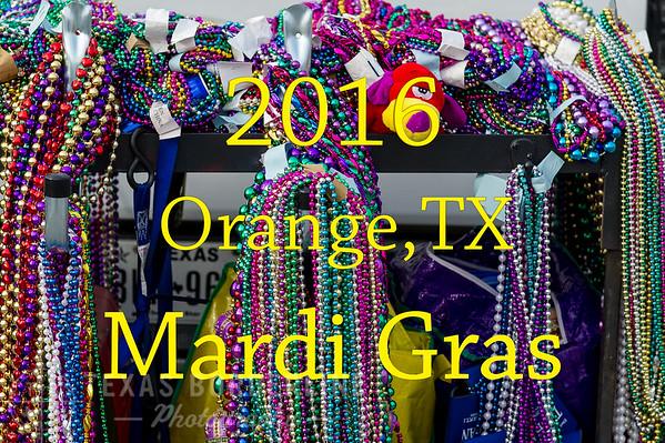 2016 Orange, TX. 'Mardi Gras'