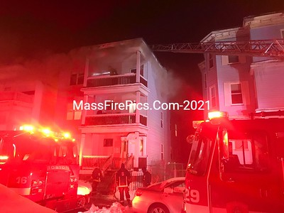 3rd Alarm Boston Ma. Box 3544 47 Woolson Street 02/11/2021