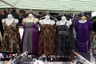 Petticoat Lane and Old Spitalfields Markets London