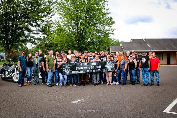 4th Annual Dwayne & Ray Covered Bridge Ride 6/26/2021