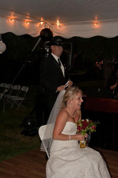 Warren-Downing Wedding Reception