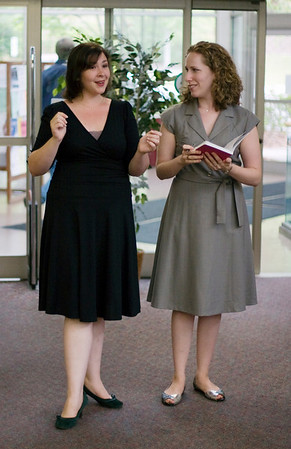 The Opera Company of North Carolina at the Chapel Hill Public Library, Sep 19, 2007