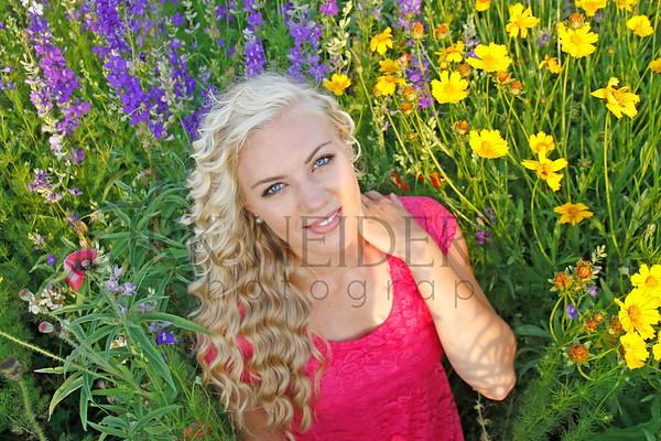 Joanna Flower Field Shoot