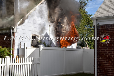 East Meadow F.D. House Fire 355 Chestnut Ave 9-23-15