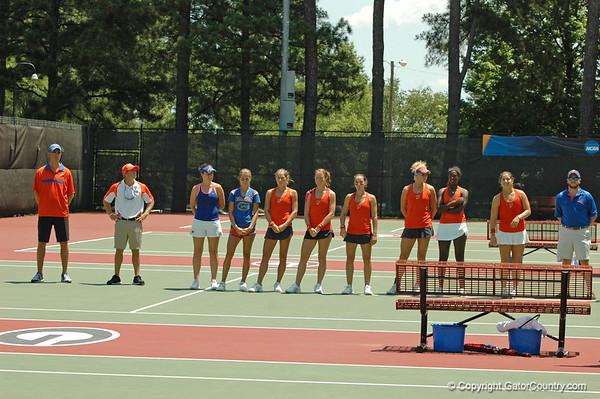 NCAA Championships W Tennis SemiFinals UF vs Duke  05/21/2012