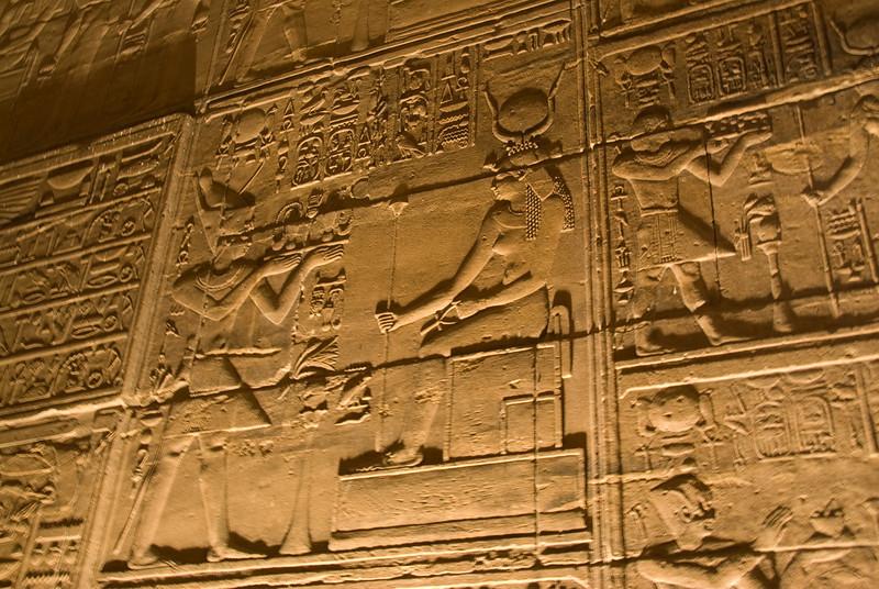 Hieroglyph 4 - Philae Temple, Aswan, Egypt