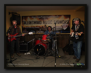 The John Marshall Band with Sacha Law at the Collingwood Music Showcase 2009