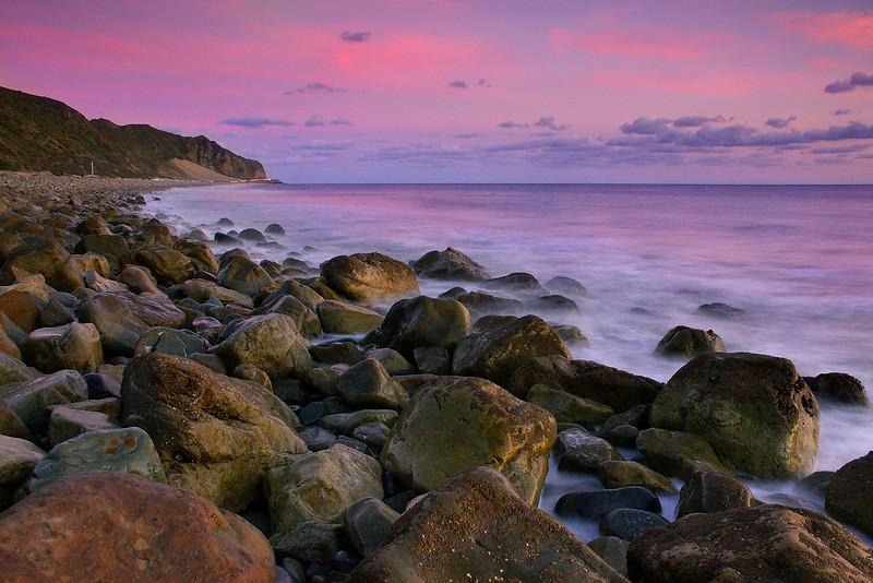 Thornhill Broom Beach Point Mugu State Park California  Santa Monica Mountains