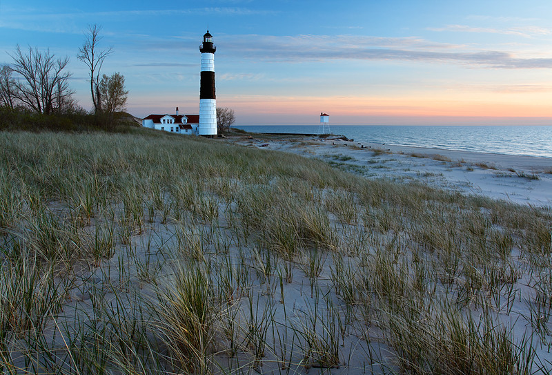 Grand Light - Big Sable Point Lighthouse (Ludington State Park - Ludington, MI)