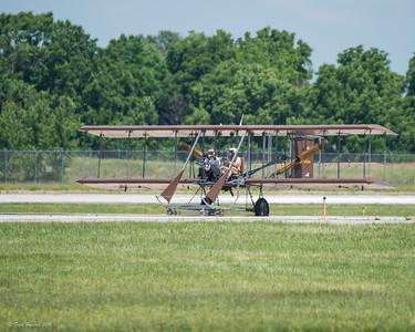 2016-06-18 Vectren Dayton Air Show - Wright B Flyer