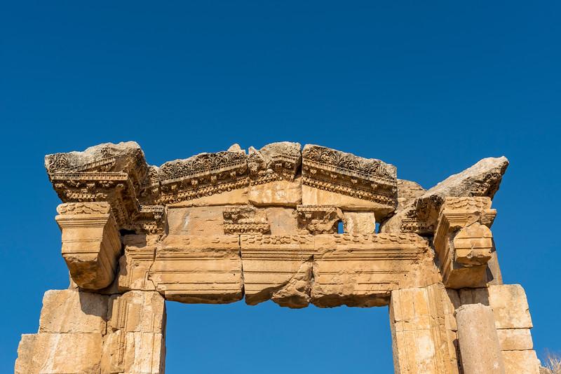 Cathedral Entrance, Jerash
