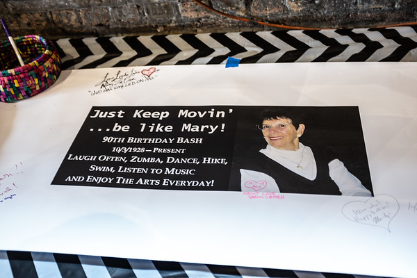 Mary Levan 90th !