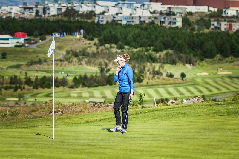 GKG, Ingunn Gunnarsdóttir Íslandsmót í golfi 2019 - Grafarholt 2. keppnisdagur Mynd: seth@golf.is