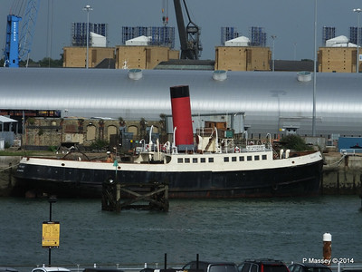 TUG TENDER CALSHOT - Southampton