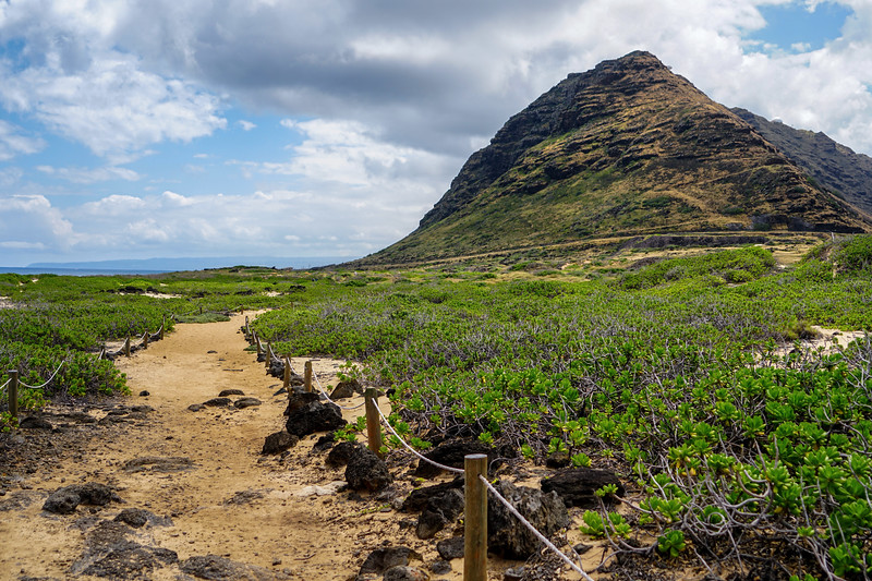 Kaena Point Nature Reserve on Oahu, Hawaii