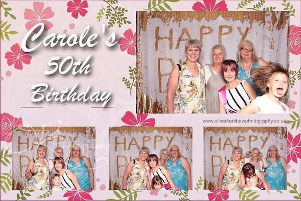 Carole's 50th Birthday