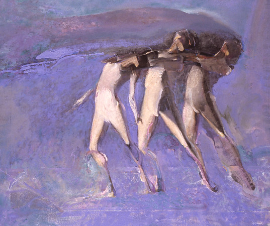 White Dancers, Monotones     (Price: $500.00)