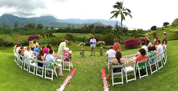 Heather and Joe Wedding Kauai