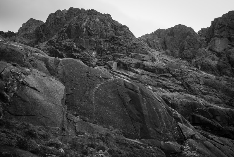 """The last few hundred meters required """"scrambling"""""""