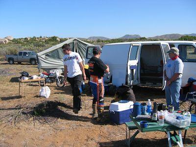 2005 Baja 500 Pit Crew