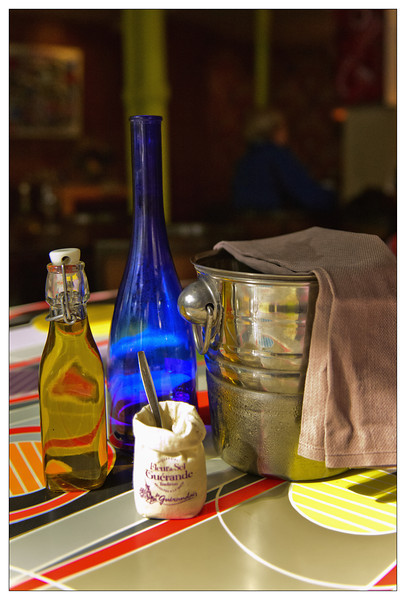Blue Bottle in Paris cafe