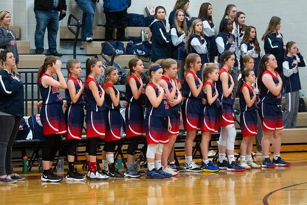Liberty Middle Girls Basketball