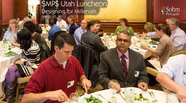 SMPS Utah March 2013 Luncheon-Designing for Millenials