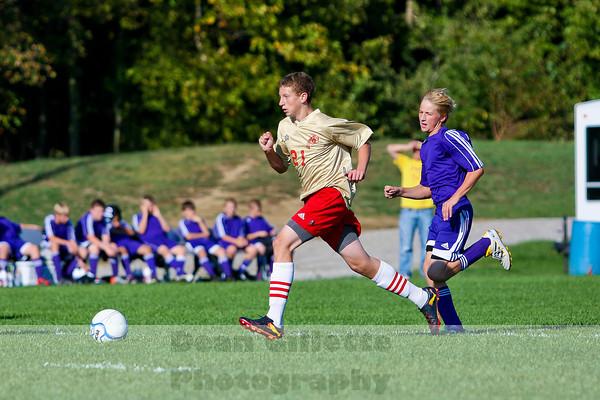 8th Boys Soccer v Elkhart Christian