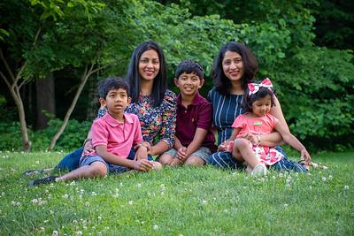 Silpa's Family Portraits