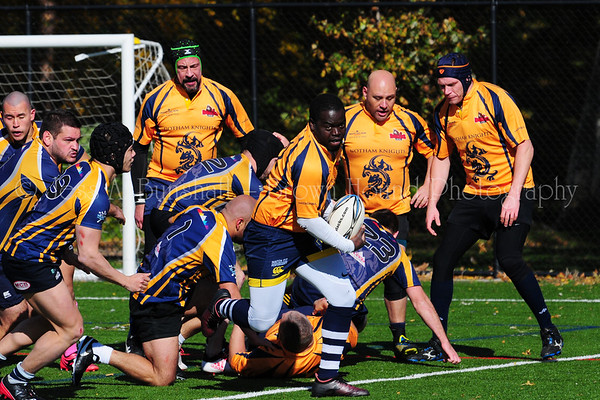Gotham Knights vs. Rockaway Rugby & Gotham Old Boys Alumni match