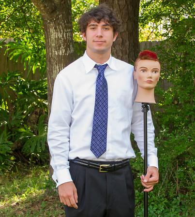 Zach's Family Graduation Pics (5-7-13)