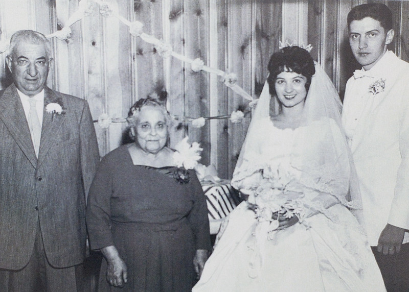 Grandpap Liberoni was Alterio ( actually, that was also Chi Chi's first name.,  Liberoni, Grandma Theresa Liberoni. Mom's cousin Rosemary Liberoni and husband Bob Moran......Mom was in her wedding party, before we were married.  I remember the wedding, since I was obviously invited.  Sadly, Rosemary too, died quite early......and painfully......from liver cancer.....