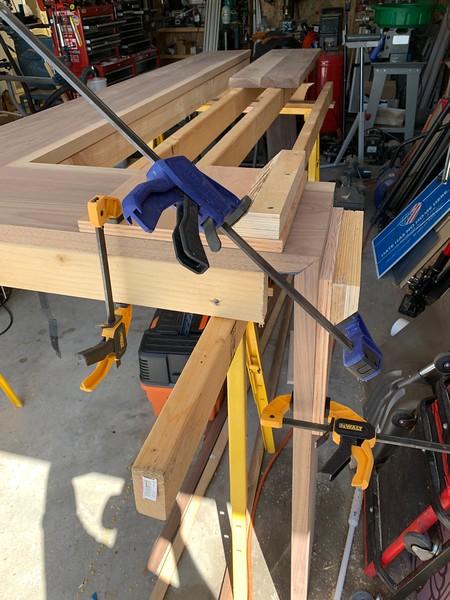Homemade corner clamp jig