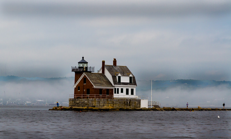 Entrance to Rockland, Me