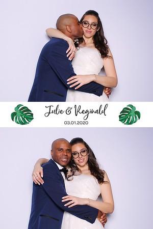 Julie and Reginald (SkinGlow Booth)