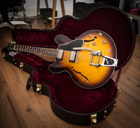 2011 - Gibson - 335 dot Historic - Sunburst