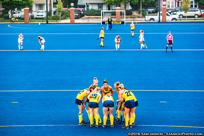 9-10-16 Michigan Field Hockey Vs Villanova